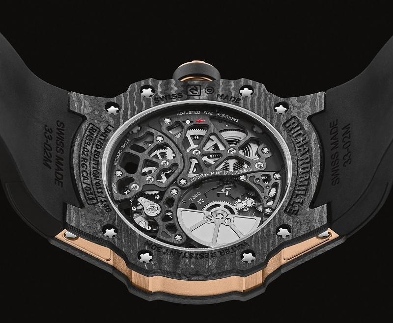 De sportieve lifestyle van de Richard Mille RM 33-02