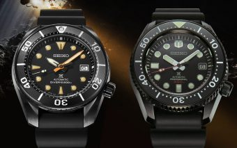 Seiko Prospex Black Series Limited Editions