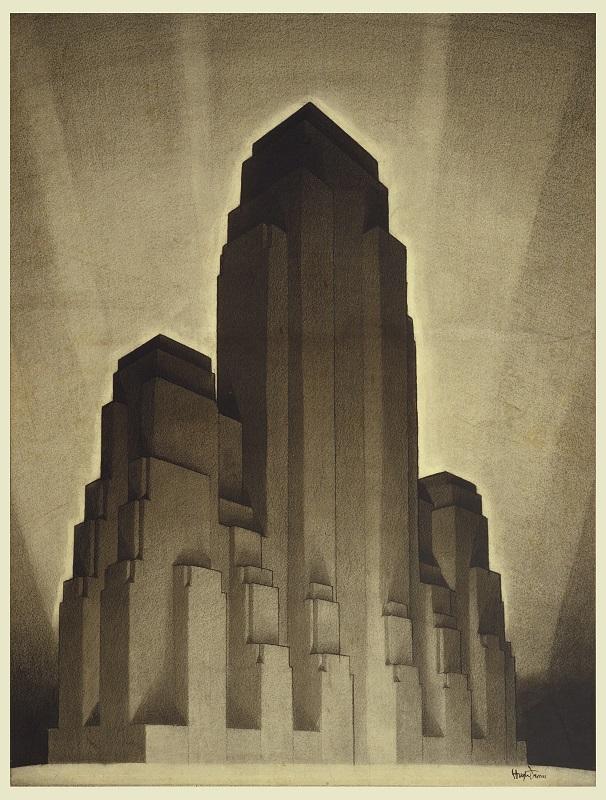 Art Deco-architectuur en een dubbele vliegende tourbillon