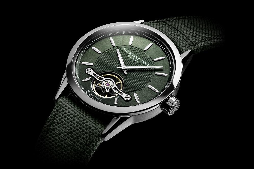 Raymond WeilFreelancer Calibre RW1212 Green