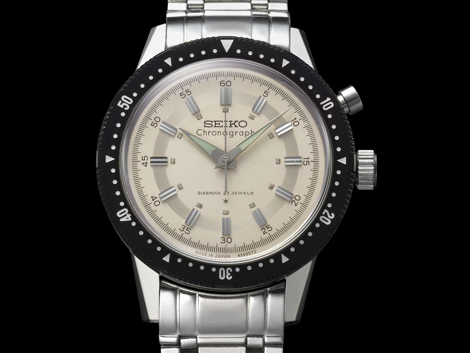 Seiko Presage Prestige Crown chronograaf hommage