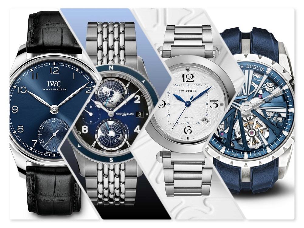 IWC, Montblanc, Cartier en Roger Dubuis