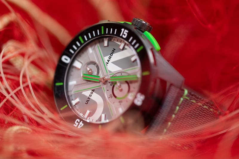 Ulysse Nardin maakt een horloge van afval