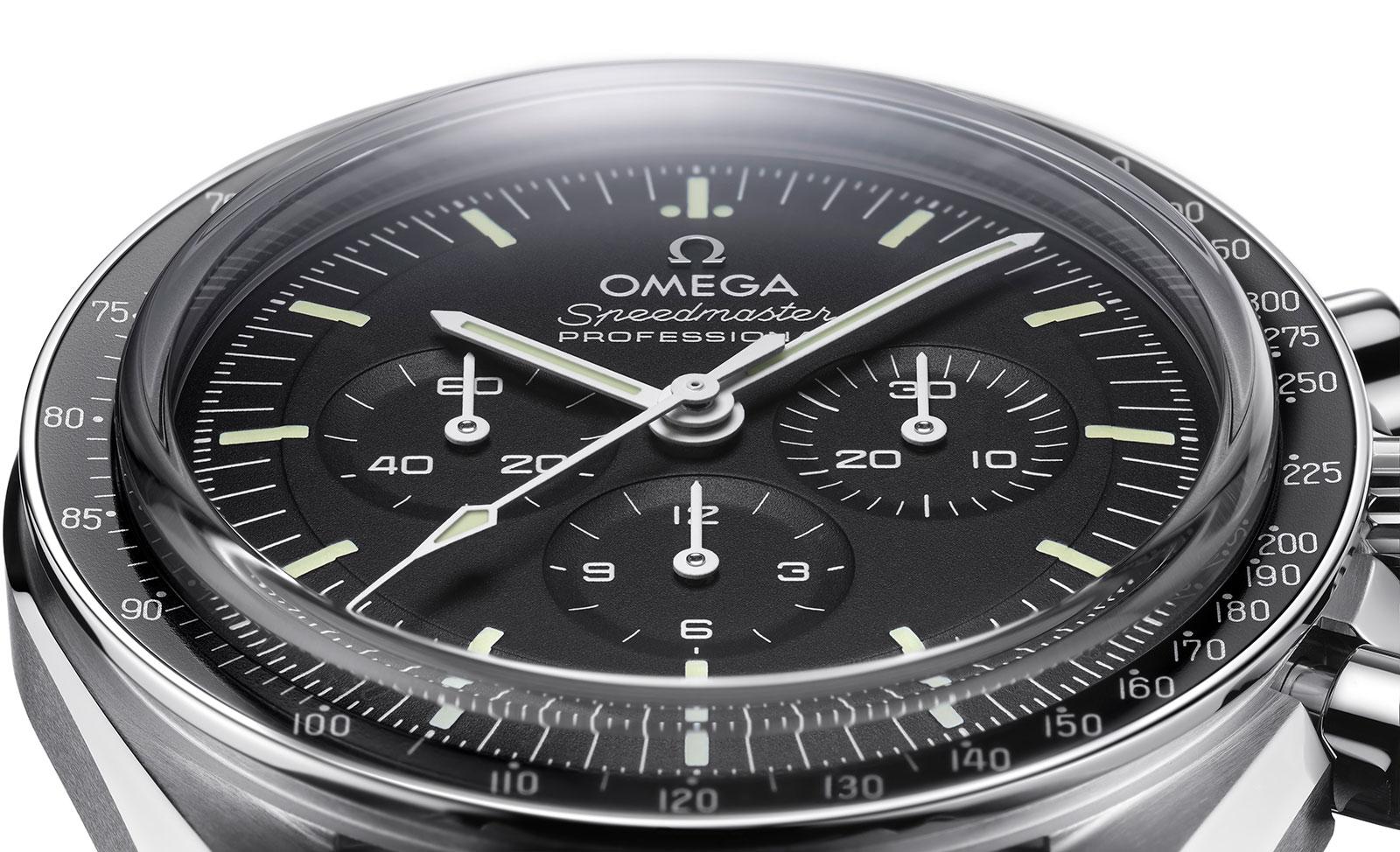 De vernieuwde en opgewaardeerde Omega Speedmaster